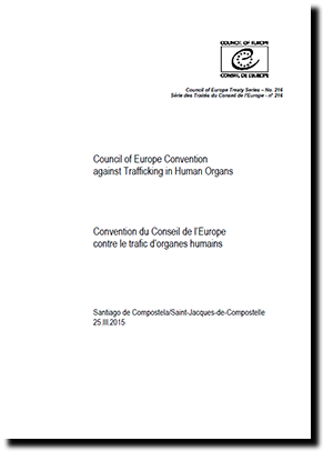 Council of Europe Convention against Trafficking in Human Organs